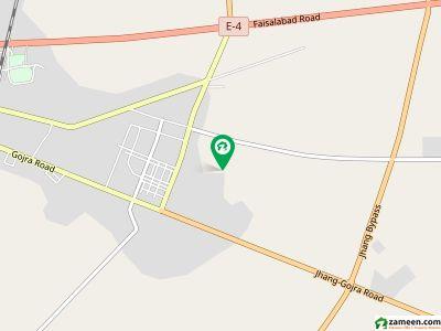 پام ولاز - فیز 1 پام ولاز گوجارا روڈ جھنگ میں 10 مرلہ رہائشی پلاٹ 60 لاکھ میں برائے فروخت۔