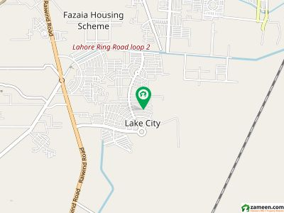 Facing Park Hot Ideal Location 27 Marla Plot Sector M 3 Lake City For Sale Reasonable Demand 240 Lac