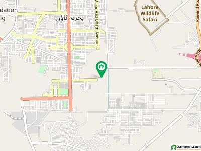 A 16 Marla Ideal Location Plot Available For Sale On Adjacent Ring Road Bahria Exit
