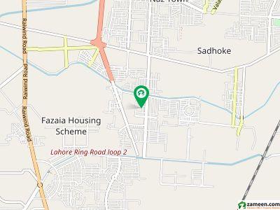 8 Marla  150 Feet Road Commercial Plot For Sale In Khayaban-e-Amin - Block A