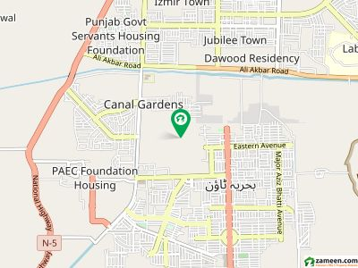5 Marla Upper portion Flat for Sale in G Block at Canal Garden