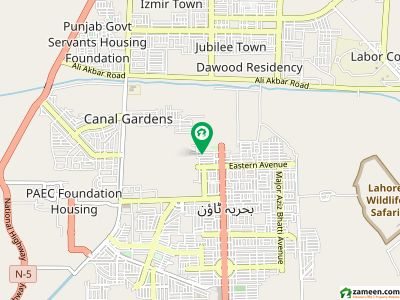 1 Kanal Ideal Location Plot For Sale In Bahria Springs Block Bahria Town Lahore