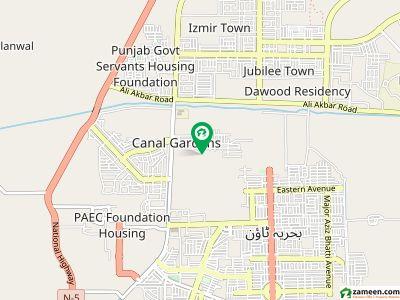 کینال گارڈنز - بلاک اے اے کینال گارڈن لاہور میں 3 کمروں کا 5 مرلہ بالائی پورشن 19 ہزار میں کرایہ پر دستیاب ہے۔