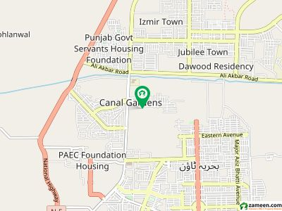 1 Kanal Lower Portion For Rent In Canal Gardens Lahore.
