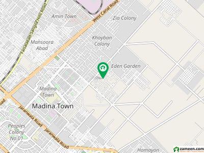 خیابان کالونی 3 فیصل آباد میں 5 مرلہ مکان 70 لاکھ میں برائے فروخت۔