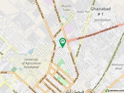 مصطفٰی آباد سوِل لائنز فیصل آباد میں 4 مرلہ مکان 65 لاکھ میں برائے فروخت۔