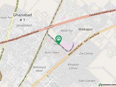Portion For Rent Lyallpur Toyota Motor Kashmir Road