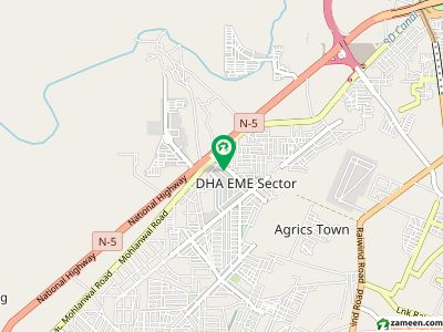 5 Marla Residential Plot File Available For Sale Dha City Lahore