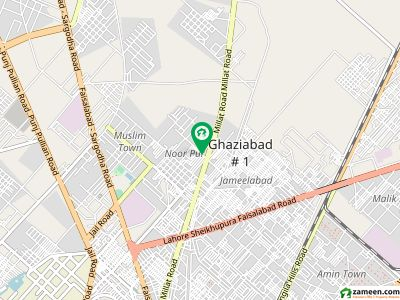 Single Storey House Is Available For Sale On 215 Chak Road, Jaranwala Road