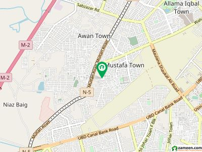 منصورہ لاہور میں 2 کمروں کا 2 مرلہ مکان 34 لاکھ میں برائے فروخت۔