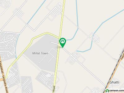 نیو گرین ٹاؤن فیصل آباد میں 3 مرلہ مکان 85 لاکھ میں برائے فروخت۔