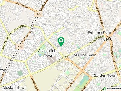 13 Marla Main Boulevard Plot For Sale Allama Iqbal Town