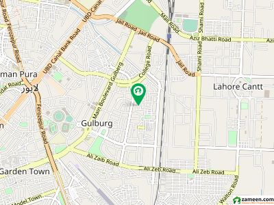 Gulberg 3 Block B1 2 Kanal Commercial Plot Excellent Location Mm Alam Road  Back Blue Area Lahore