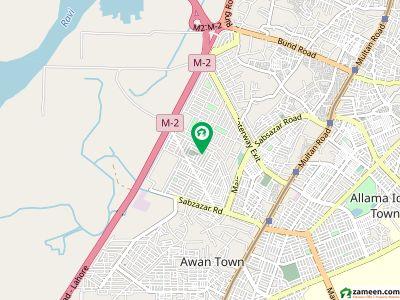 سبزہ زار سکیم ۔ بلاک کے سبزہ زار سکیم لاہور میں 10 مرلہ رہائشی پلاٹ 1.68 کروڑ میں برائے فروخت۔