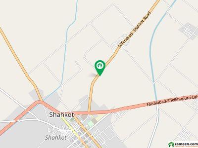 صفدرآباد روڈ شاہکوٹ میں 67.55 کنال زرعی زمین 2.53 کروڑ میں برائے فروخت۔