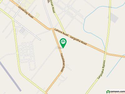 غنی پارک فیصل آباد روڈ سرگودھا میں 5 مرلہ مکان 80 لاکھ میں برائے فروخت۔
