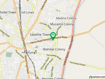 Gulberg  City Sui Gas Road 1 Kanal Bungalow For Rent
