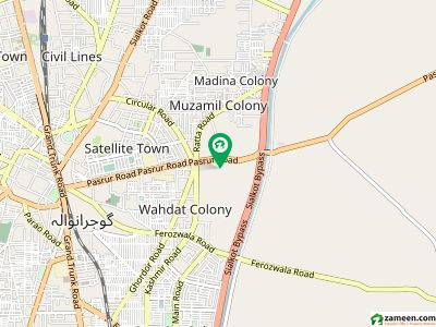 4 Marla House For Urgent Sale In Farid Town Near Satellite Town