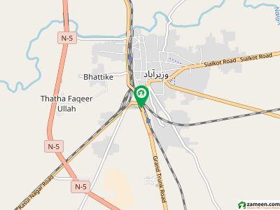 جی ٹی روڈ وزیرآباد میں 4 کمروں کا 10 مرلہ مکان 1.55 کروڑ میں برائے فروخت۔