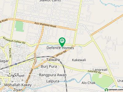 Brand New 6.5 Marla House For Sale Defence Homes Sialkot Cantt Near V Mall