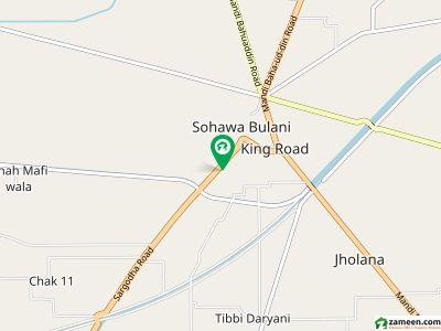 سرگودھا روڈ منڈی بہاؤالدین میں 4 کمروں کا 5 مرلہ مکان 60 لاکھ میں برائے فروخت۔