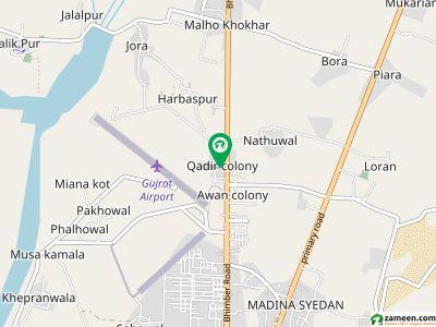 قادر کالونی گجرات میں 2 کمروں کا 5 مرلہ مکان 44.5 لاکھ میں برائے فروخت۔