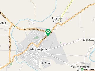 ادرز جلال پور جٹاں میں 7 مرلہ رہائشی پلاٹ 22.75 لاکھ میں برائے فروخت۔