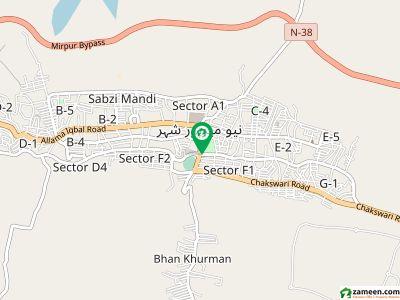 میاں محمد روڈ میر پور میں 6 کمروں کا 5 مرلہ مکان 75 لاکھ میں برائے فروخت۔