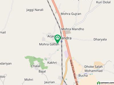مندرہ راولپنڈی میں 2.75 کنال زرعی زمین 2.22 کروڑ میں برائے فروخت۔