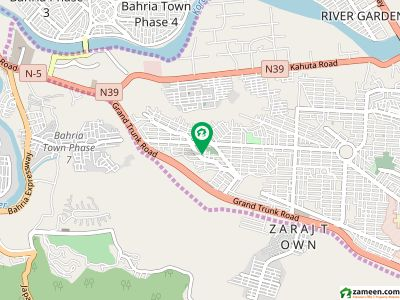 1 Kanal Corner Facing Park Plot Out Standing Location Dha Phase 2 Islamabad