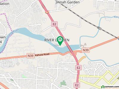 کریک هایئٹس رِیور گارڈن اسلام آباد میں 2 کمروں کا 4 مرلہ فلیٹ 55 لاکھ میں برائے فروخت۔