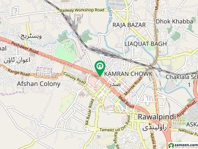 کوہستان ٹاور صدر راولپنڈی میں 2 مرلہ دفتر 1.21 کروڑ میں برائے فروخت۔