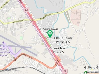 ghauri town 6marla develop commercial plot for sale in islamabad