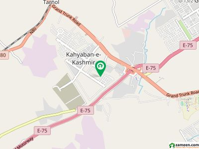 One Kanal Plot File For Sale In Khayaban E Kashmir Zone 5 Islamabad