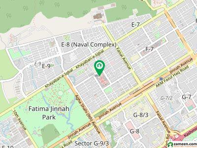 ایف ۔ 8 اسلام آباد میں 4 کنال رہائشی پلاٹ 55 کروڑ میں برائے فروخت۔