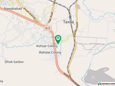 فیصل ہلز - بلاک اے فیصل ہلز ٹیکسلا میں 6 مرلہ رہائشی پلاٹ 38 لاکھ میں برائے فروخت۔