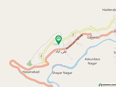 علی آباد ہنزہ میں 5 کنال رہائشی پلاٹ 1.8 کروڑ میں برائے فروخت۔