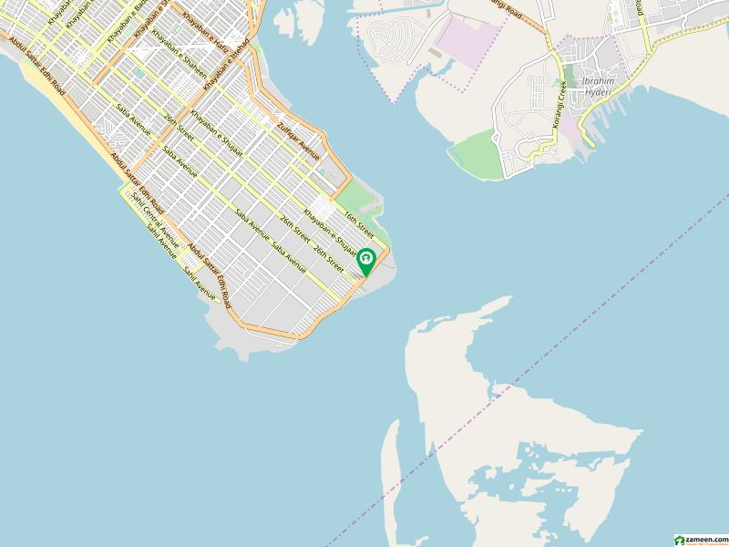 Dha Defence Residential Plot For Sale Sized 4500  Square Feet