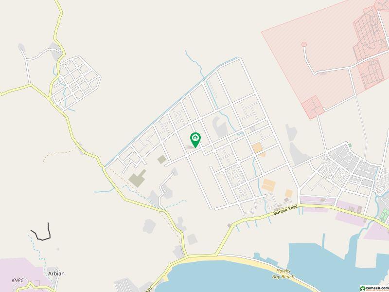 ہاکس بے اسکیم 42 کراچی میں 8 کنال صنعتی زمین 2.09 کروڑ میں برائے فروخت۔