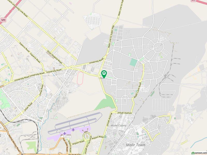 کینٹ ویوٹاور جناح ایونیو کراچی میں 2 کمروں کا 4 مرلہ فلیٹ 65 لاکھ میں برائے فروخت۔