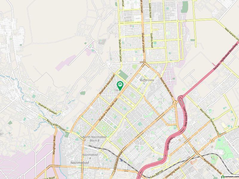 سیرینا ہِلز اندہ موڑ روڈ کراچی میں 4 مرلہ فلیٹ 55 لاکھ میں برائے فروخت۔