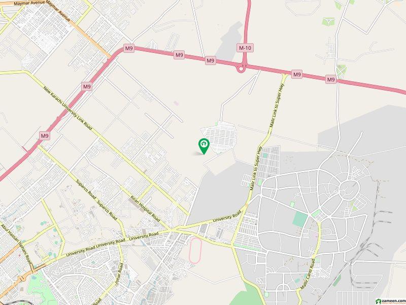 ساداتِ امروہا کوآپریٹو ہاؤسنگ سوسائٹی گلستانِ جوہر کراچی میں 16 مرلہ رہائشی پلاٹ 1.9 کروڑ میں برائے فروخت۔