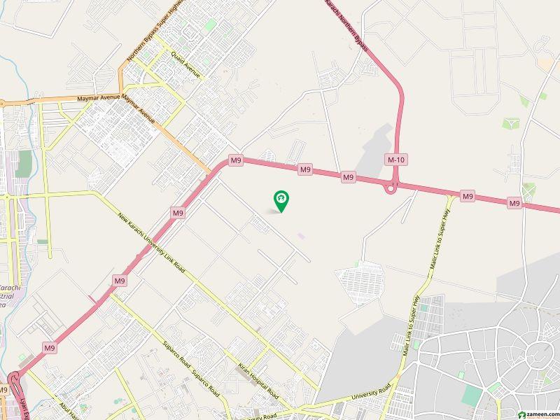 آمنہ سی ایح ایس - سیکٹر 48 / اے آمنہ کوآپریٹو ہاؤسنگ سوسائٹی سکیم 33 کراچی میں 5 مرلہ رہائشی پلاٹ 8 لاکھ میں برائے فروخت۔