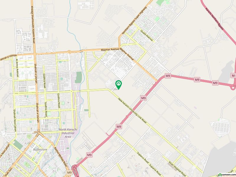 Four Side Corner 2000 Yards Plot For Sale Situated At Ali Muhammad Shaikh Goth