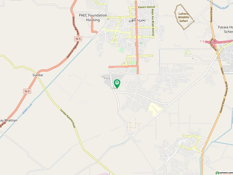 5 Marla Plot For Sale Ghaznvai Block In Bahria Town Lahore