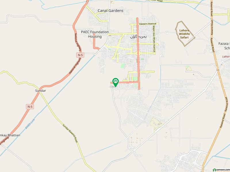 10 MARLA Residential Plot For Sale In Bahria Town    BLOCK ALAMGIR