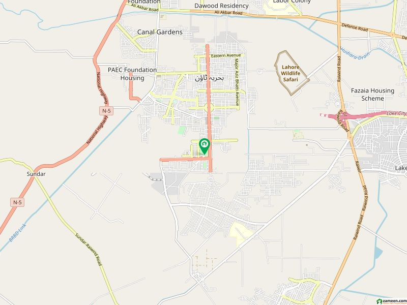بحریہ ٹاؤن ۔ نشتر ایکسٹینشن بلاک بحریہ ٹاؤن سیکٹر ای بحریہ ٹاؤن لاہور میں 1 کنال رہائشی پلاٹ 1.3 کروڑ میں برائے فروخت۔