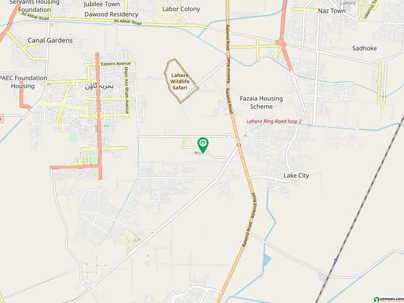 64 Kanal Land For Sale On BNU Road - Near To Bharia Town