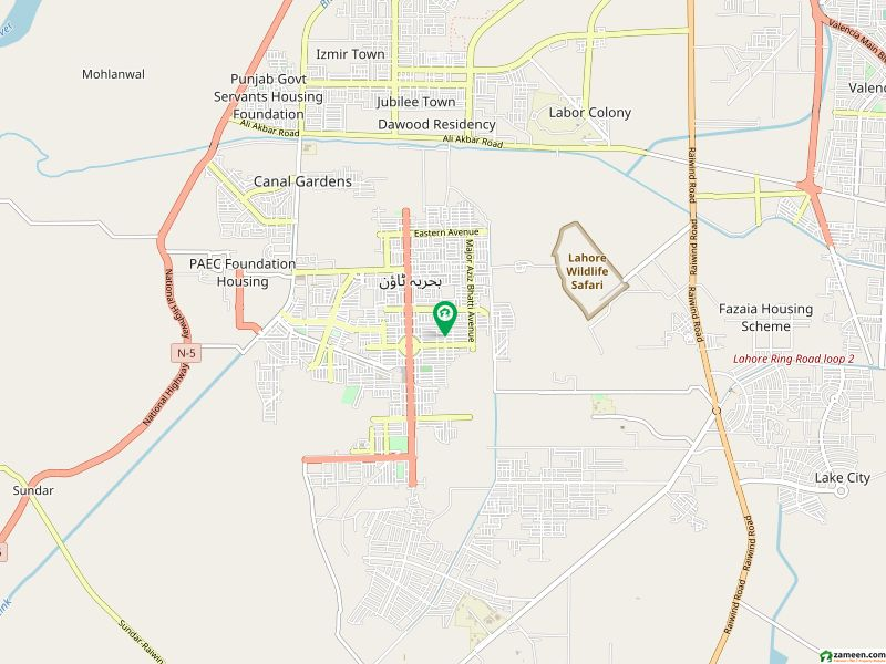 PAIR 8 MARLA COMMERCIAL Plot For Sale In Bahria Town  Sector C