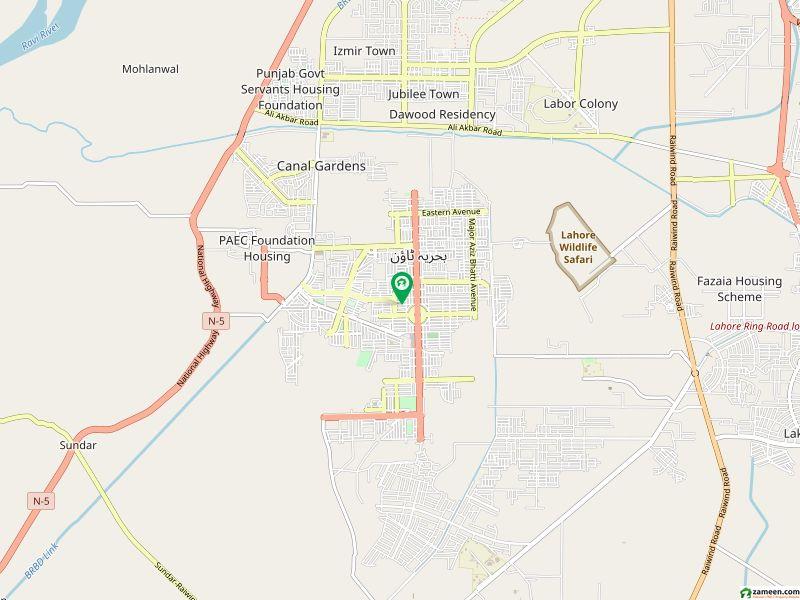 10 Marla Plot For Sale In Gulmohar Block Bahria Town Lahore